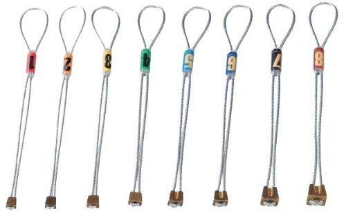 Climbing stopper Brass-Chock set 1-8