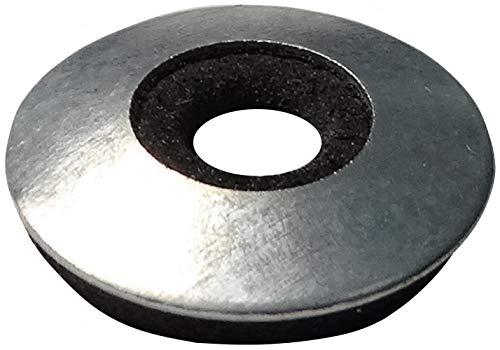AERZETIX - Set mit 20 Dichtscheiben mit Dichtung - Neopren - EPDM - Ø10,6x22mm - Metall - Für selbstbohrende Schrauben - DIY - C44485
