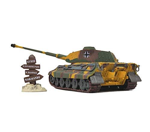 KAIGE 1:72 Militar del Modelo del Tanque, la Segunda Guerra Mundial Alemania Panzerkampfwagen Vi Tiger II, la Modelo Acabado Collectibles (6Inchtimes; 2INCH Veces; 1.6inch) WKY