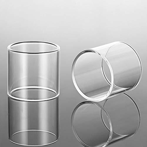 Without brand 2 Stück Ersatz Glas-Behälter gepasst for UD Zephyrus/fit for Zephyrus V2-Transparent (Farbe : Klar, Größe : Fit for Zephyrus v2)