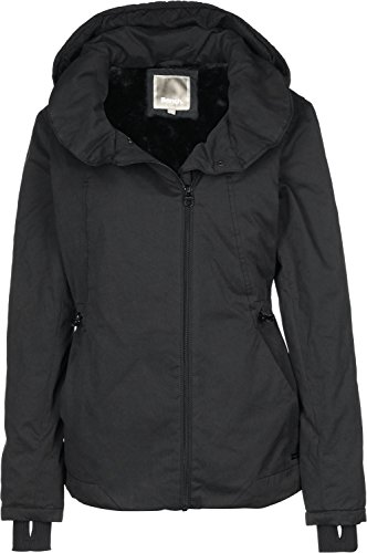 Bench Damen TO-THE-POINT Jacke, Schwarz (Black BK014), 40 (Herstellergröße: L)