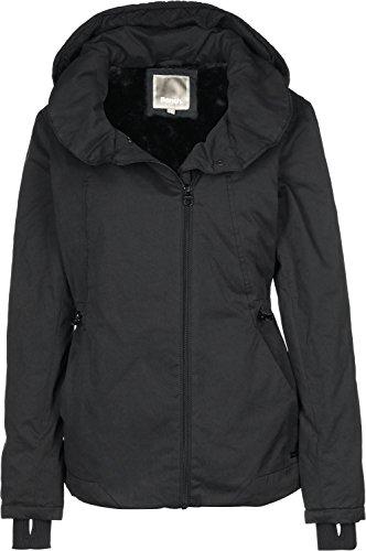Bench Damen TO-THE-POINT Jacke, Schwarz (Black BK014), 40 (Herstellergröße: L)
