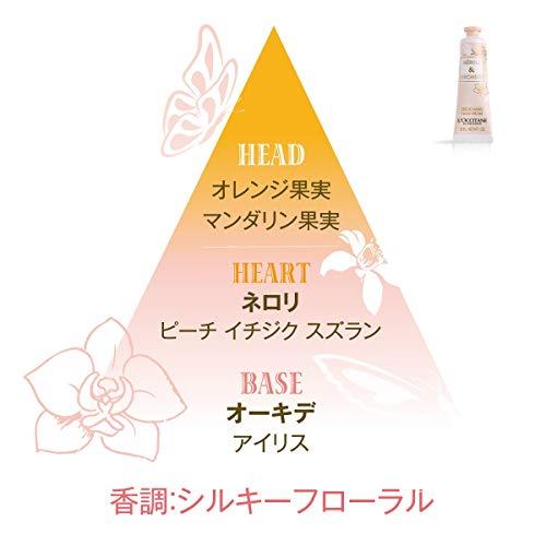 【Amazon.co.jp限定】ロクシタン(L'OCCITANE)ハンドクリームトリオポーチ付き(オーキデ30g、テールドルミエール30ml、リボンアルル30ml)