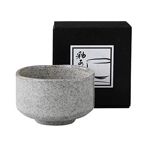 Minoyaki Oburo Grey Matcha Bowl Ochawan Made in Japan