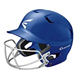 EASTON Z5 Senior Batting Helmet with Baseball Softball Mask | 2019 | Black | Unisex | Dual Density Shock Absorption Foam | High Impact Resistant ABS Shell | Moisture Wicking BioDRI liner