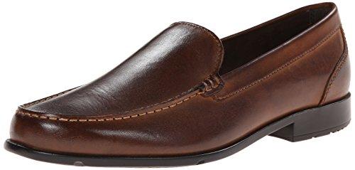 Rockport Men's Classic Lite Venetian Slip-On Loafer- Dark Brown-10.5 M