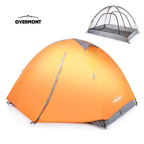Overmont Tenda 1-2 Persone impermeabile,...