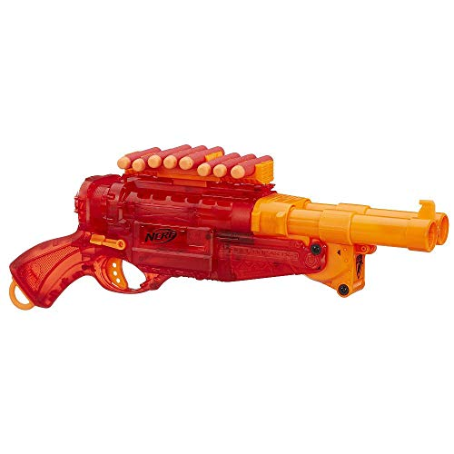 Hasbro – A9325 – Nerf – Barrel Break IX-2 Sonic Series – Spielzeug-Blaster mit 8 Darts