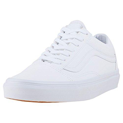 Vans Old Skool, Zapatillas de Entrenamiento Hombre, Blanco (Classic Tumble), 39 EU