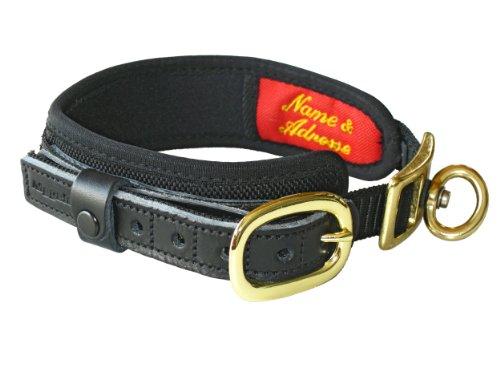 Niggeloh Hundehalsung Deluxe, schwarz, M, 091100018