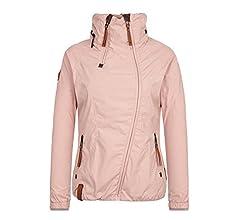 naketano jacke asymmetrische pink
