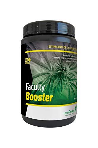 GreenFaculty - Booster - Revienta Cogollos. Fertilizante Abono Cogollador. Potenciador Floración PK 27-29. para Cultivo de Interior y Exterior. Polvo Soluble 500 g.