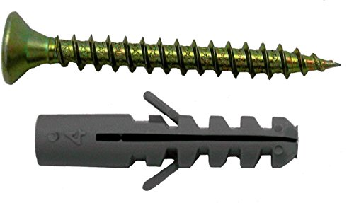 FER 41622 Bolsa Taco con Tirafondo 6 mm-4, 5x40 Bicromatado