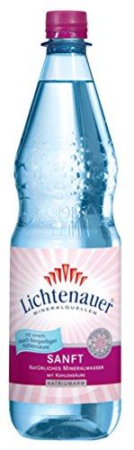 Lichtenauer Mineralwasser Sanft 12x1,0 l - inklusive Pfand - Lieferung ohne Kiste