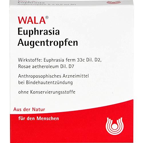 WALA Euphrasia Augentropfen, 5 St. Einzeldosispipetten