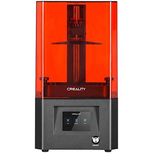 """Comgrow Creality LD-002H Impresora 3D de Resina UV con Sistema de Filtrado de Aire, Pantalla Táctil Inteligente a Color de 3,5"""", Fuente de Luz Avanzada Tamaño de Impresión 130X82X160mm"""