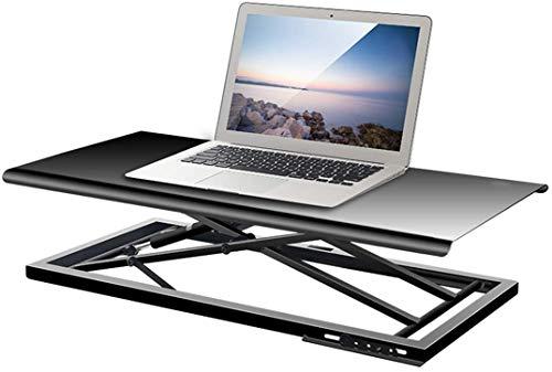 LY88 Standing Desk,Riser Converter Hoogte Verstelbaar 680mm*340mm Platform Stand Up Desk,Ergonomic Design Office Tafelblad Computer Workstation