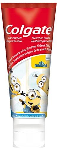Colgate Kinderzahnpasta Minions, 6+ Jahre, 6er Pack (6 x 50 ml)
