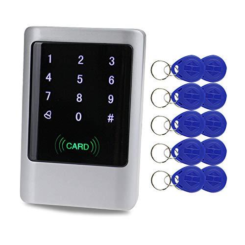 Metal IP65 Impermeable Control de acceso Teclado RFID