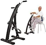 ZJDM Bicicleta estática de Pedal para Ejercicios de recuperación de piernas, Brazos y Rodillas, Equipo de Fitness de Resistencia Ajustable para Personas Mayores y Ancianos