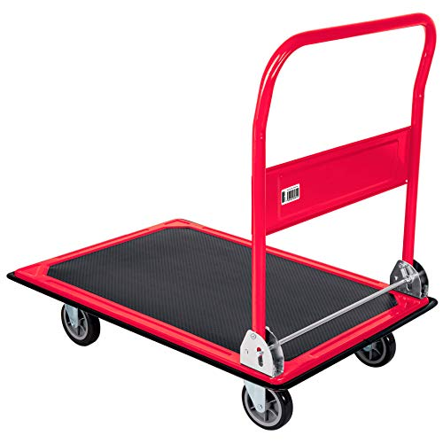 Fiero DIA-300P Carrito de carga plegable tipo plataforma 300 kg, color, pack of/paquete de 1