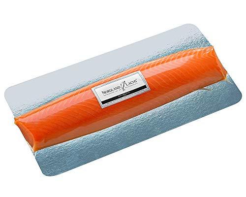 Nordland-Lachs Ultrapremium Lachs-Filet ROYAL geräuchert aus Schottland / das edelste Stück vom Nordland-Lachs für Feinschmecker / TOP Kühlversand (500g)