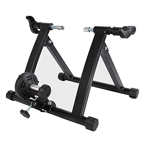 ZZQH Home Trainer Velo Elite,Support De Formateur De Vélo Fluide avec Système De Sécurité À Double Verrouillage,Simulé Extérieur Cyclisme