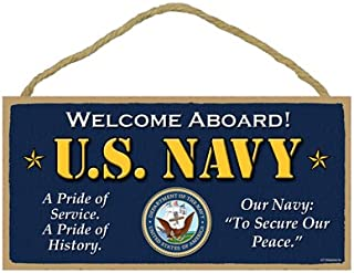 SJT ENTERPRISES, INC. U.S. Navy - Welcome Aboard - A Pride of Service a Pride of History - Our Navy to Secure Our Peace Primitive 5