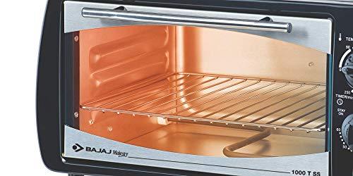 Bajaj 1603 T Oven Toaster Grill Combo,16 Liters,White