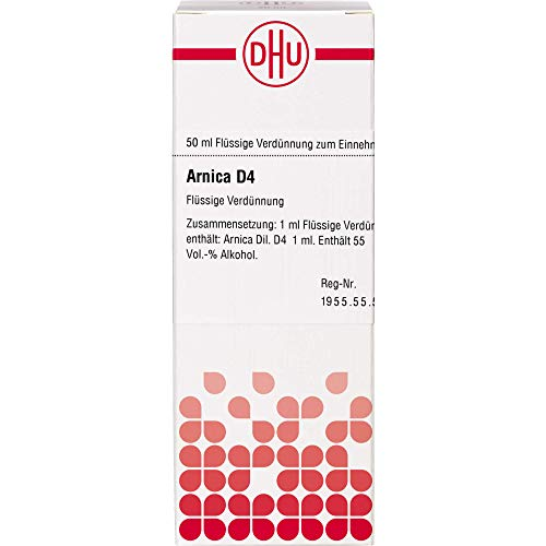 DHU Arnica D4 Dilution, 50 ml Lösung