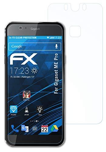 atFolix Schutzfolie kompatibel mit Gigaset ME Pro Folie, ultraklare FX Bildschirmschutzfolie (3er Set)