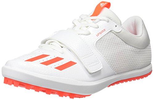 adidas Herren Jumpstar Leichtathletikschuhe, Mehrfarbig FTWR White Solar Red FTWR White, 48 EU