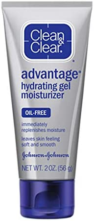 Clean Clear Skin Advantage Face Moisturizer for Acne Prone Skin Oil Free Facial Moisturizer product image