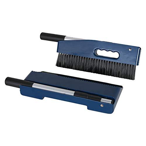 ダルトン(Dulton) ハンディ ダストパン ブラシ インクブルー 伸縮可能 変幻自在のお掃除アイテム K855-1078NBL