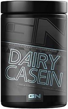 Gn Laboratories 100% Proteína Láctea Caseína en Polvo, Crema de Galletas 900 g