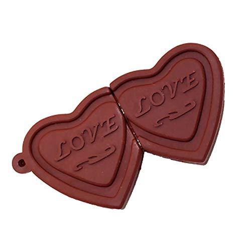Gespout Creativo Forma di Cioccolato Flash Drive Disco Chiavette USB Pen Drive 64 G