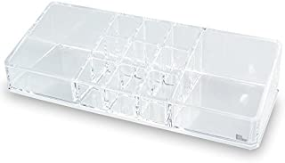 """Sungpunet Cosmetic Organizer with 11 Compartments. 9""""w X 3 1/2"""" X 2""""h"""