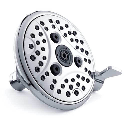 VXV High Pressure 6 Spray Setting Shower Head,4.7 Inch...