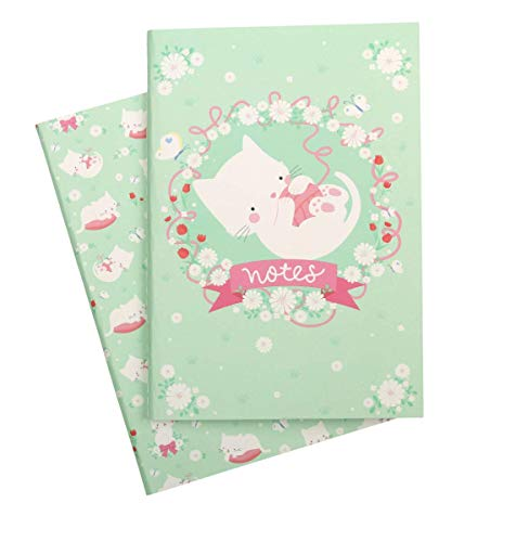 Carnets A5 Chat - A Little Lovely Company