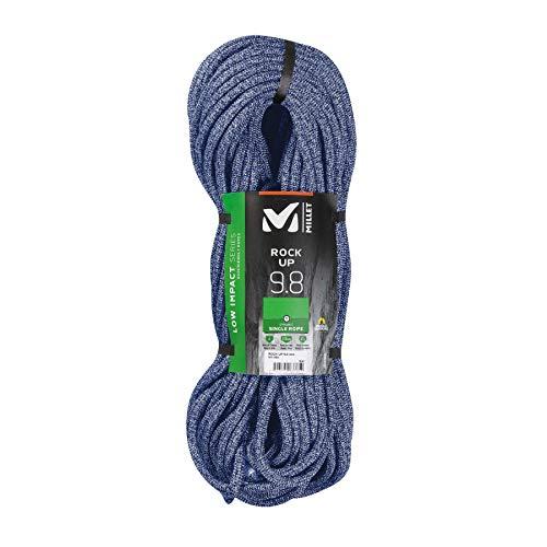 Millet – Rock Up 9,8 mm 70 m – Corde à Simple Fluide – Escalade Sportive – Diamètre 9,8 mm – Longueur : 70 m – Couleur : Bleu