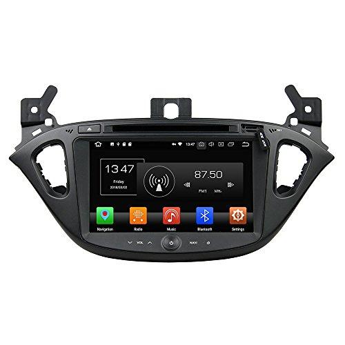KUNFINE Android 10 Octa Core Ram 4G 32 GB di ROM autoradio GPS Navigazione DVD Lettore multimediale Controllo del volante headunit Stereo PerOPEL CORSA 2015-2016