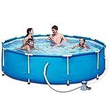 Qazxsw Bracket Swimmingpool/Home Erwachsene Kinder Schwimmbad/Outdoor Fischteich/großes Paddling-Pool/Dreischichtige Verdickung