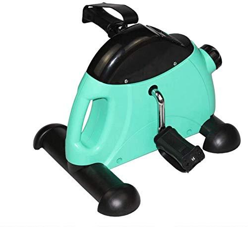 SAFGH Mini ejercitador de Pedales con Pantalla Digital, piernas y Brazos, Bicicleta estática, portátil, Interior, para Ejercicios de rehabilitación