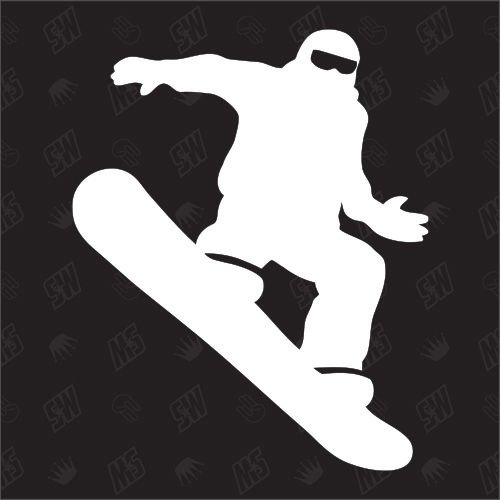 Snowboarder - Sticker