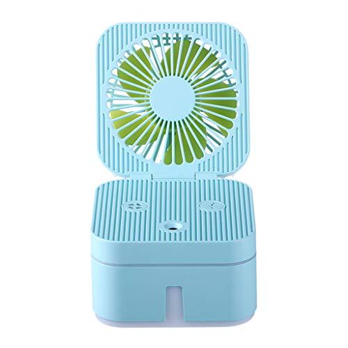 MIRRAY Mini Handventilator Tragbarer Handlüfter Wiederaufladbarer tragbarer Luftbefeuchter für Büroreisen nach Hause im Freien