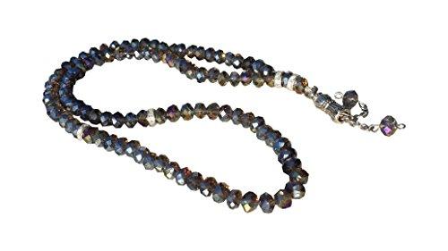 Süper Lüks 99'lu Tesbih (kutulu) – Super Luxus Gebetskette mit 99 Perlen (mit einer Verpackung) – Very nice prayer chains with 99 pearls (with box)