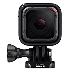 Stunning 4K video and 10MP photos in single, burst and time lapse modes. Durable by design, Hero5 Session is waterproof to 33ft (10M) without a housing. This model does not feature an LCD screen for real-time video viewing A single press of the shutt...