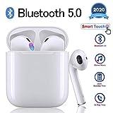 JUNPTEAR Bluetooth 5.0 Noise Cancelling Funkkopfhörer 3D Stereo IPX7 Wasserdichtes...