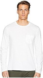 トッドスナイダー Todd Snyder メンズ トップス シャツ ブラウス White Made In The USA Pocket Long Sleeve T-Shir [並行輸入品]
