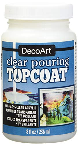 Decoart Clear Pouring Topcoat 8oz